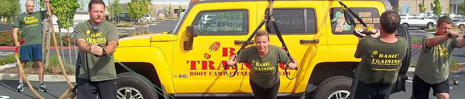 Boot Camp Training with Hummer